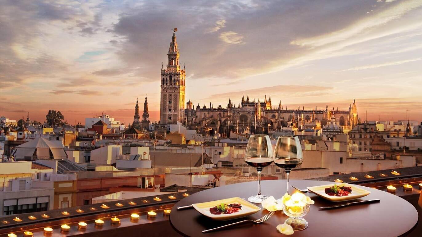 Comer con las mejores vistas en Sevilla