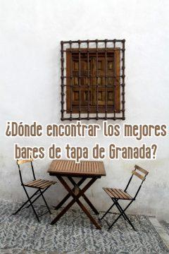 los mejores bares de tapa de Granada