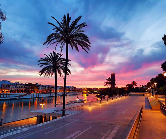 mejor atardecer en Sevilla