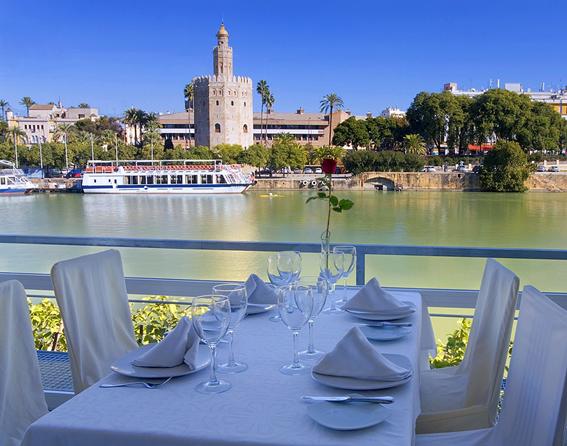 restaurantes con buenas vistas en Sevilla