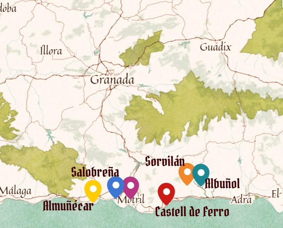 Las mejores playas en Granada