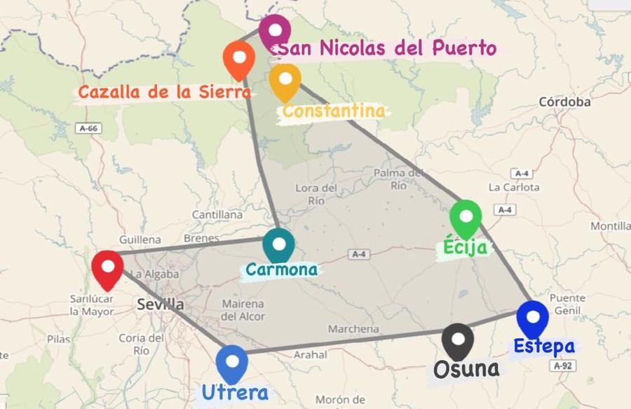Ruta por los mejores pueblos de Sevilla