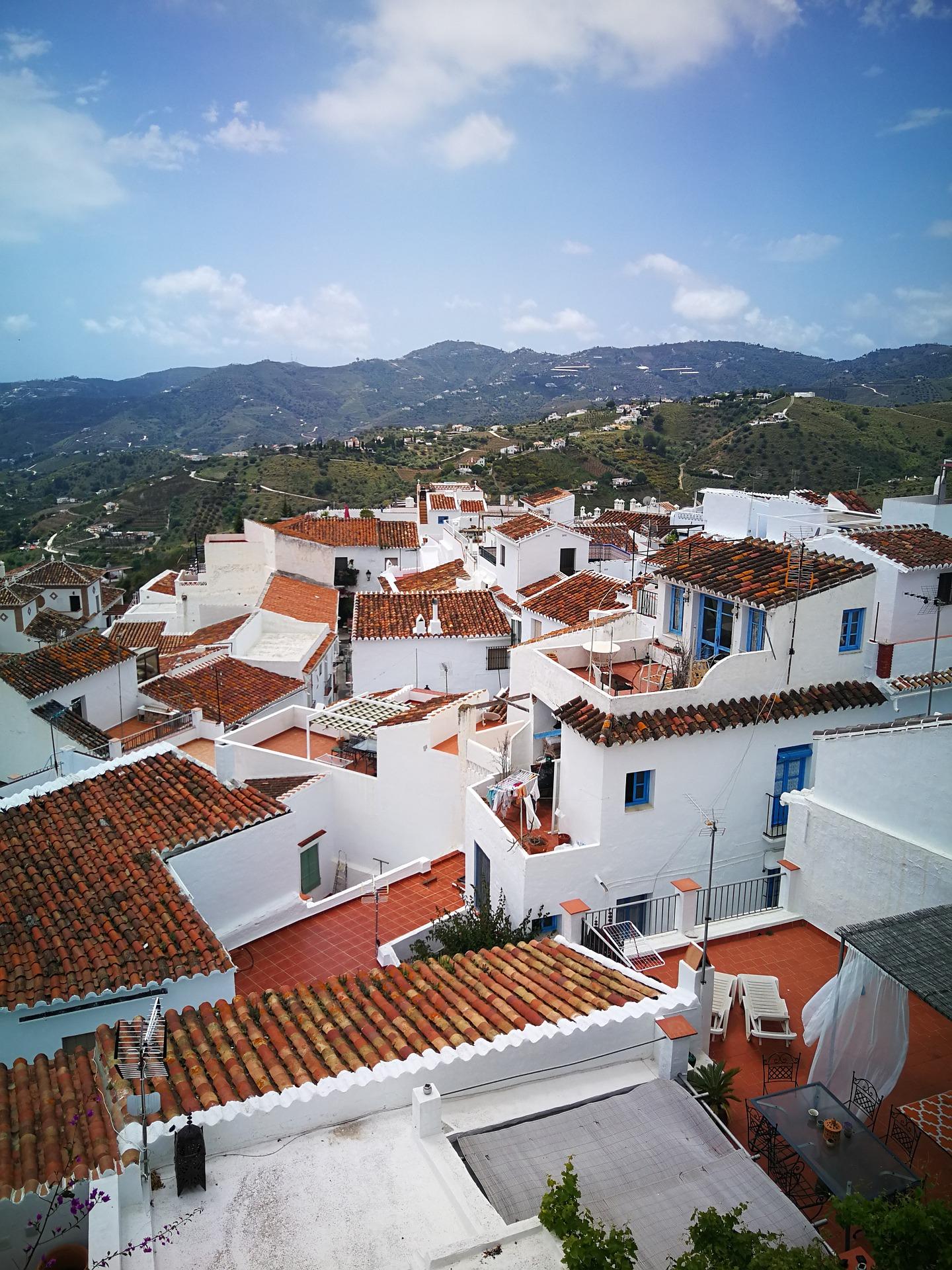 los mejores pueblos blancos en Málaga