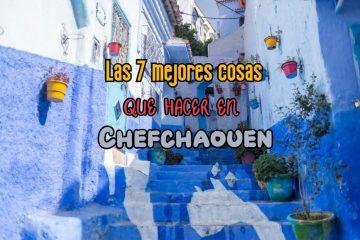 qué visitar en Chefchaouen